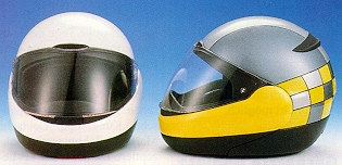 Opening Face Helmet From Bmw And Schuberth